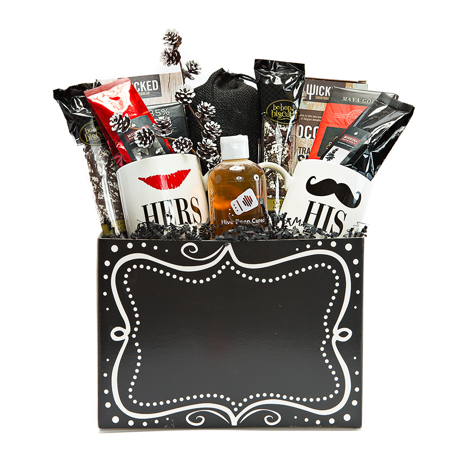 His and Hers Gift Basket