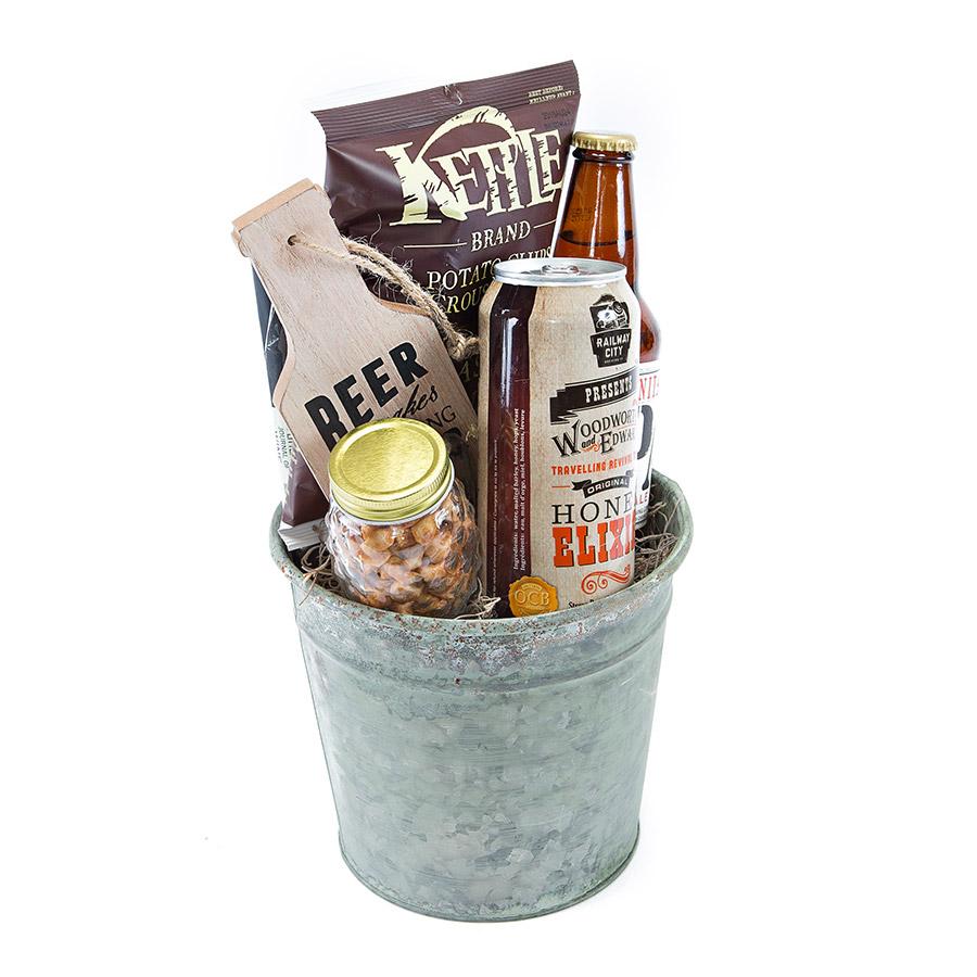 Beer gift bucket