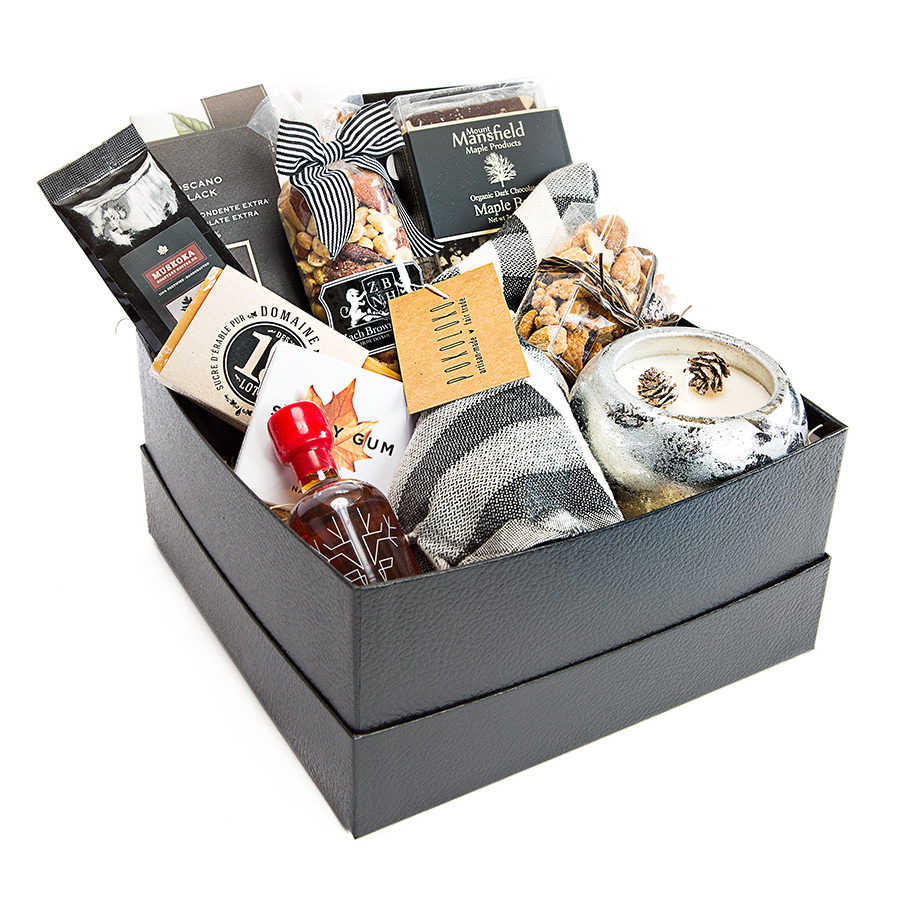 Canadian Themed Gift Basket