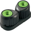 RF5420G - Ronstan C-Cleat Cam Cleat - Large - Green w/Black Base