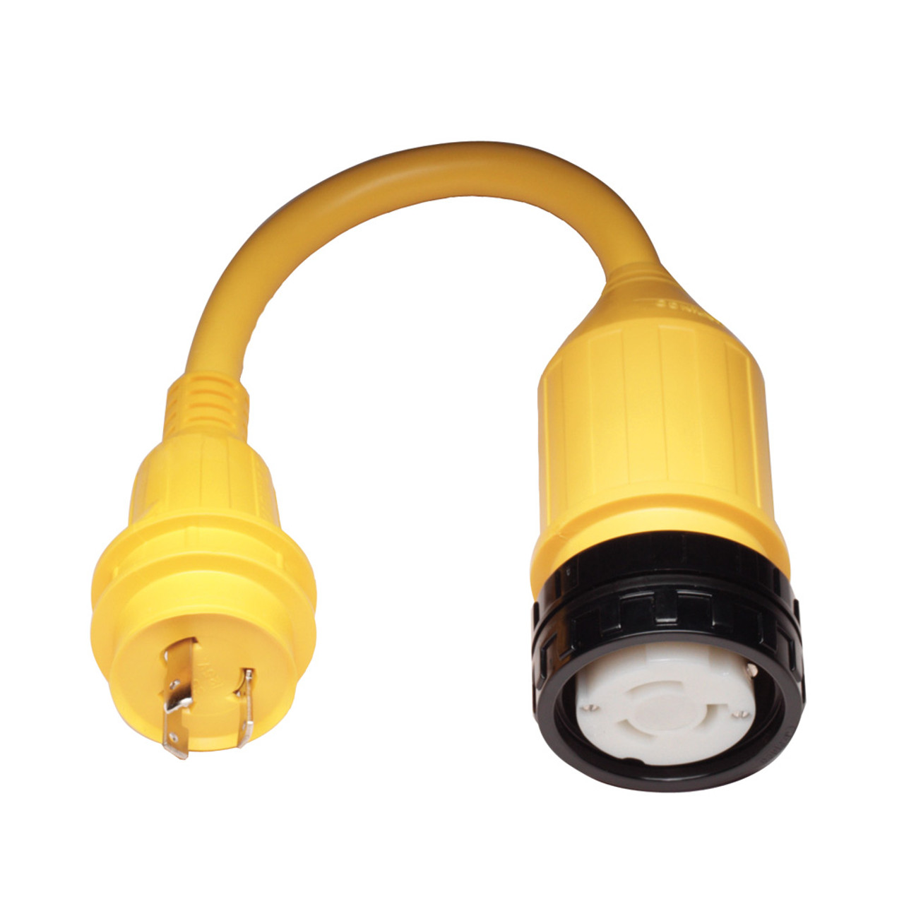 111A - Marinco Pigtail Adapter - 50A Female to 30A Male
