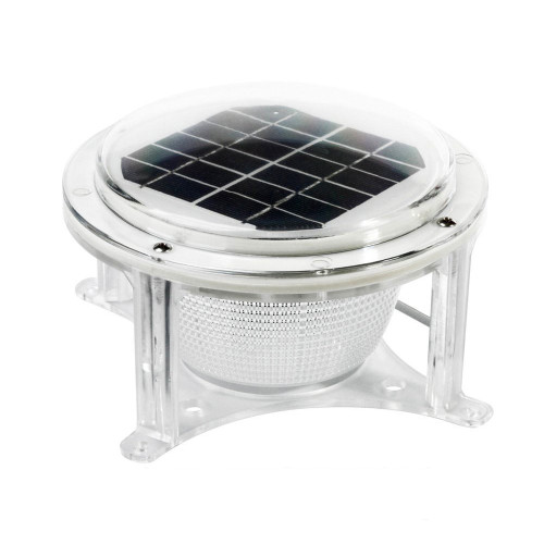 96-282-F - Dock Edge Piling Solar Dome Light