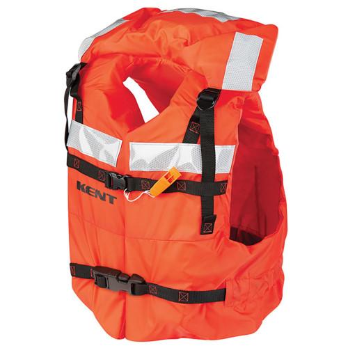 100400-200-004-16 - Kent Type 1 Commercial Adult Life Jacket - Vest Style - Universal