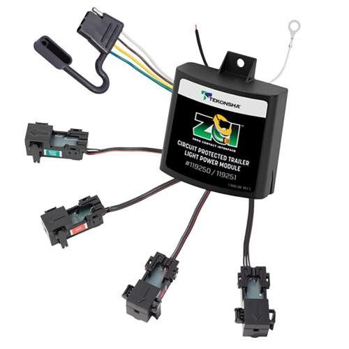 119250 - Tekonsha ZCI™ Zero Contact Interface Universal ModuLite® - Universal Trailer Light Power Module