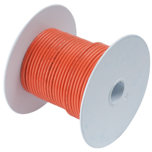 104550 - Ancor Orange 14 AWG Tinned Copper Wire - 500'