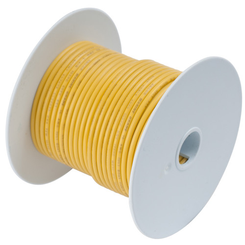 105025 - Ancor Yellow 14 AWG Tinned Copper Wire - 250'