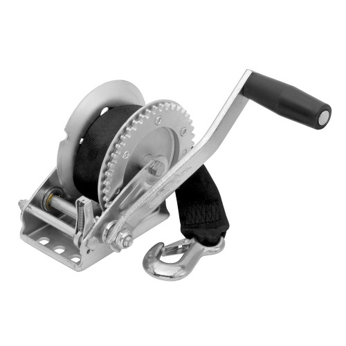 142203 - Fulton 1500lb Single Speed Winch w/20' Strap Included