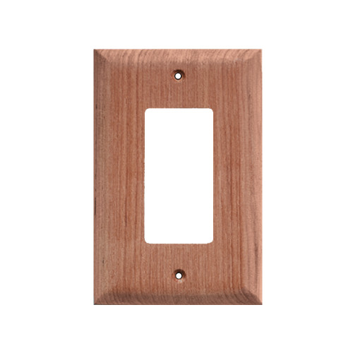 60171 - Whitecap Teak Ground Fault Outlet Cover/Receptacle Plate - 2 Pack
