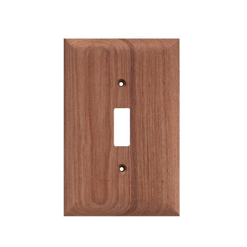 60172 - Whitecap Teak Switch Cover/Switch Plate - 2 Pack
