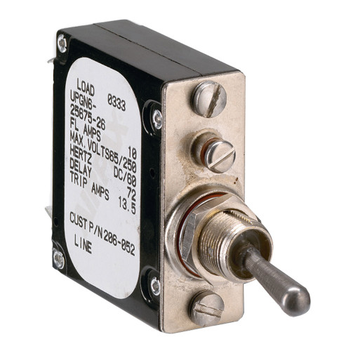 206-053S - Paneltronics Breaker 15 Amps A-Frame Magnetic Waterproof