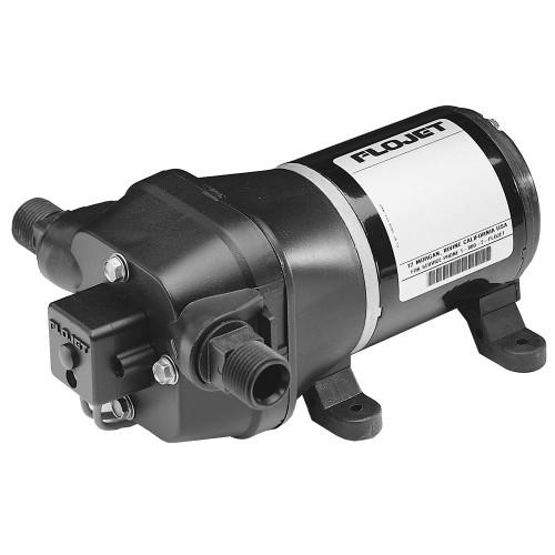 04305144L - FloJet Deck Wash Pump - 40psi/3.5GPM/12V w/Nozzle