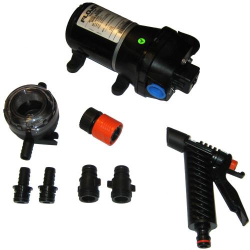 04305510A - FloJet Premium Quad Water System Pump - 50psi/3.0GPM/12V