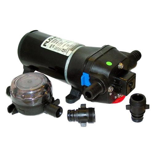 04325143A - FloJet Heavy Duty Deck Wash Pump - 40psi/4.5GPM/12V