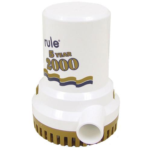 "09 - Rule 2000 G.P.H. ""Gold Series"" Bilge Pump"