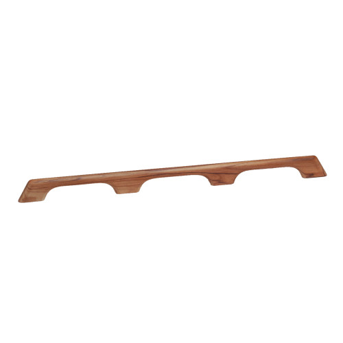 "60104 - Whitecap Teak Handrail - 3 Loops - 33""L"