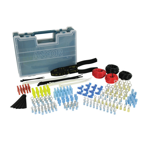 220020 - Ancor 225 Piece Electrical Repair Kit w/Strip & Crimp Tool