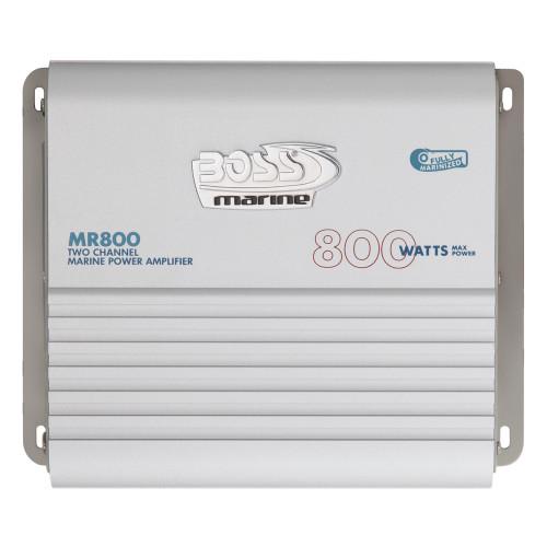 MR800 - Boss Audio MR800 Marine Power Amplifier 2-Channel MOSFET Bridgeable