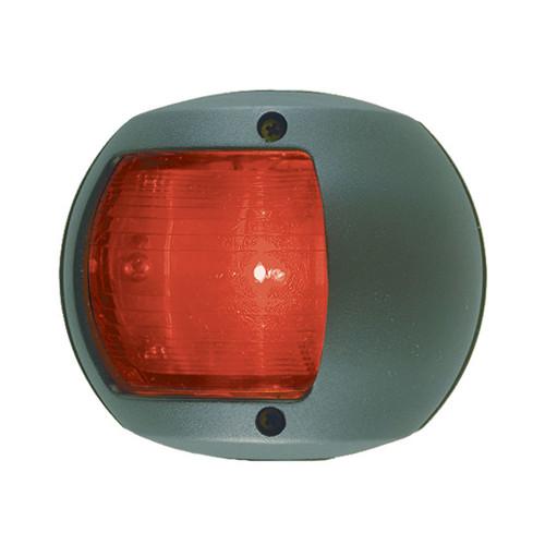 0170BP0DP3 - Perko LED Side Light - Red - 12V - Black Plastic Housing