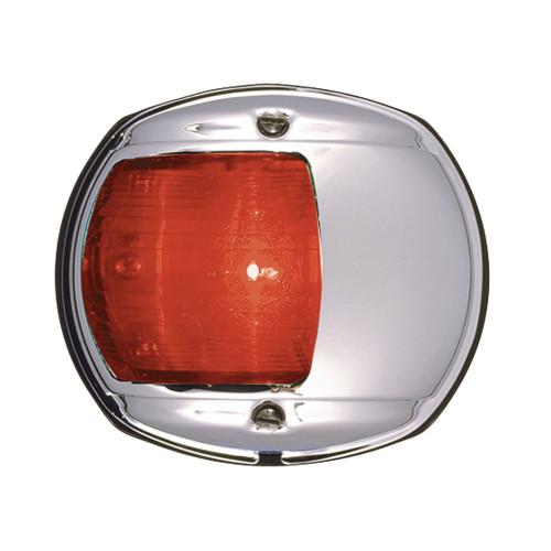 0170MP0DP3 - Perko LED Side Light - Red - 12V - Chrome Plated Housing