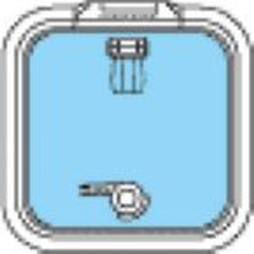 39610050 - Lewmar Size 10 Ocean Series Hatch Flat Base