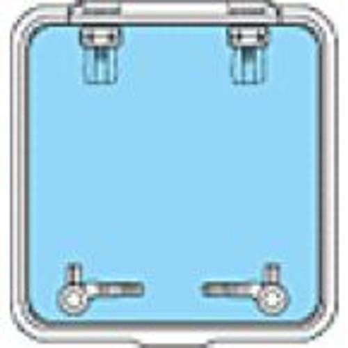 39660050 - Lewmar Size 60 Ocean Series Hatch Flat Base