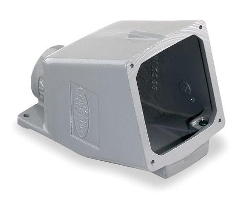 BB1001W - Hubbell BB1001W 15 Degree Metallic Back Box For 100A