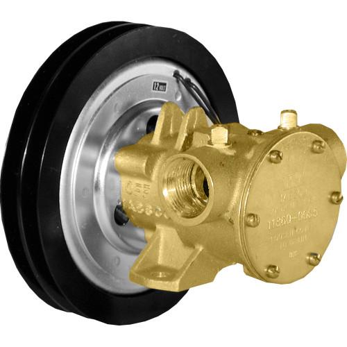 """11860-0005 - Jabsco 1"""" Electro-Magnetic Clutch Pump - 12V"""