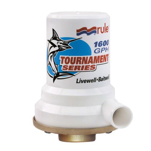 209B - Rule Tournament Series Bronze Base 1600 GPH Livewell Pump