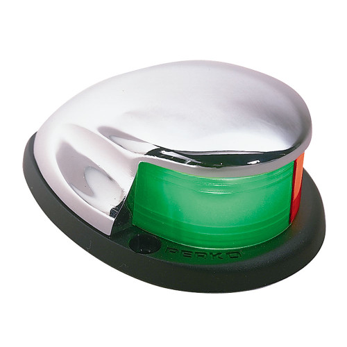 0227DP0CHR - Perko Bi-Color Bow Light Chrome Plated