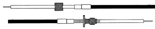 CC17012 - SEASTAR 170 OMC CONTROL CABLE 12FT