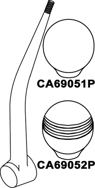 CA69051P - SEASTAR REPLACEMENT HANDLE KNOBS