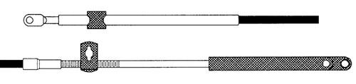 CC17918 - SEASTAR 179 MERC CONTROL CABLE 18FT
