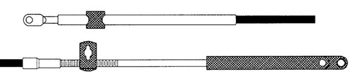 CC17920 - SEASTAR 179 MERC CONTROL CABLE 20FT