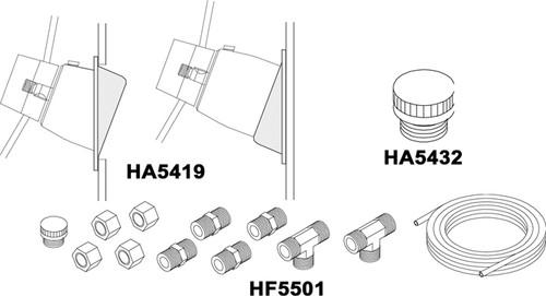 HA5419 - SEASTAR 20* WEDGE KIT