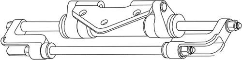 HP6016 - SEASTAR SEASTAR SUPPORT ROD KIT