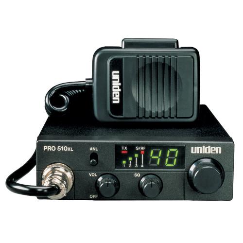 PRO510XL - Uniden PRO510XL CB Radio w/7W Audio Output