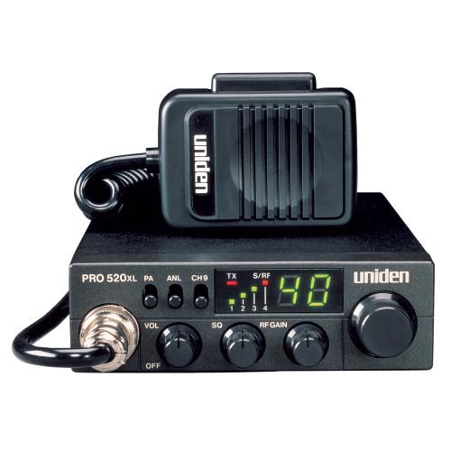 PRO520XL - Uniden PRO520XL CB Radio w/7W Audio Output
