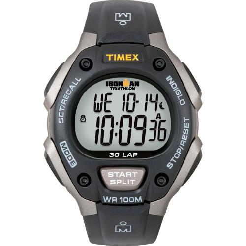 T5E901 - Timex Ironman Triathlon 30 Lap Grey/Black