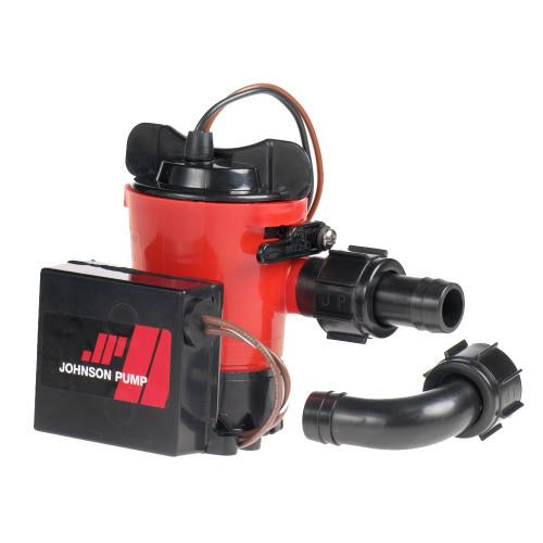 "07503-00 - Johnson Pump 500 GPH Auto Bilge Pump 3/4"" Hose 12V Dura Port"