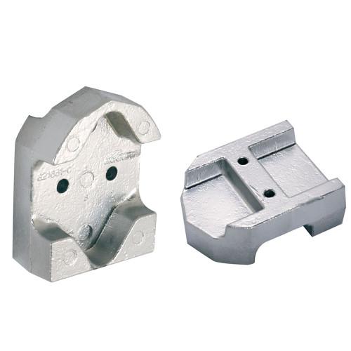 00806BISAL - Tecnoseal Gimbal Block Anode - Aluminum