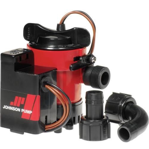 "05703-00 - Johnson Pump 750GPH Auto Bilge Pump 3/4"" Hose Mag Switch 12V"