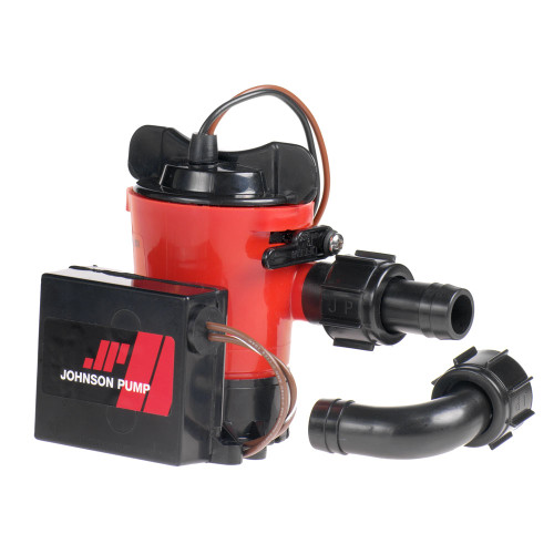"07903-00 - Johnson Pump 1000GPH Ultima Combo Pump 3/4"" Hose Dura Port"
