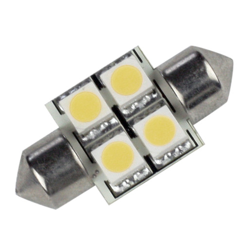 LLB-202C-21-00 - Lunasea Pointed Festoon 4 LED Light Bulb - 31mm - Cool White