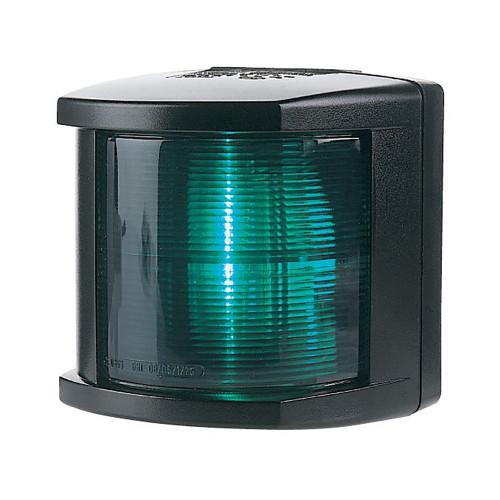 2984345 - Hella Marine Starboard Navigation Light - Incandescent - 2nm - Black Housing - 12V