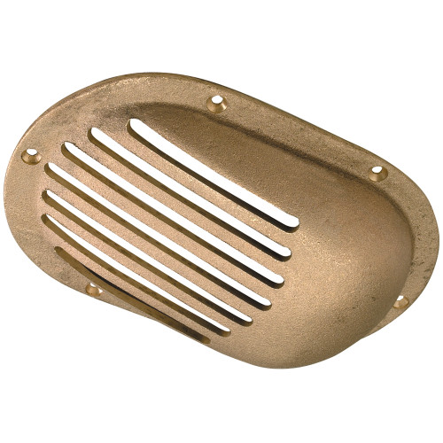 """0066DP4PLB - Perko 8"""" x 5-1/8"""" Scoop Strainer Bronze MADE IN THE USA"""