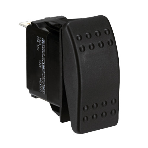 001-453 - Paneltronics DPDT (ON)/OFF/(ON) Waterproof Contura Rocker Switch - Momentary Configuration