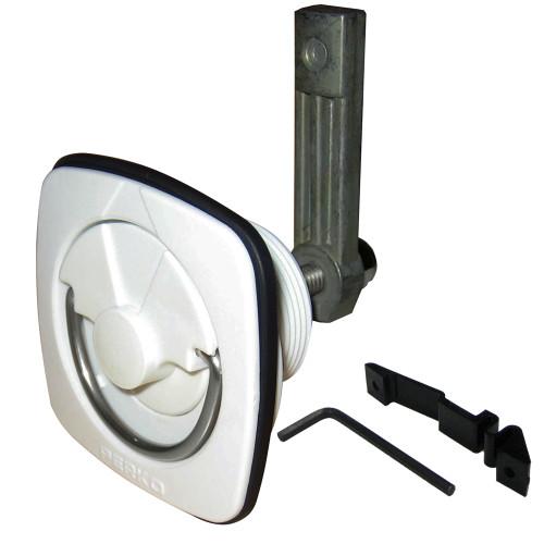 1082DP3WHT - Perko Flush Latch - White