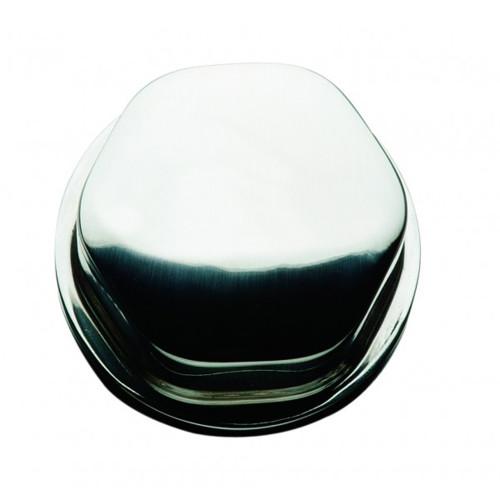 "CAP0304 - Schmitt Faux Center Nut - Chrome/Plastic - 1/2""& 3/4"" Base - For Cast Steering Wheels"