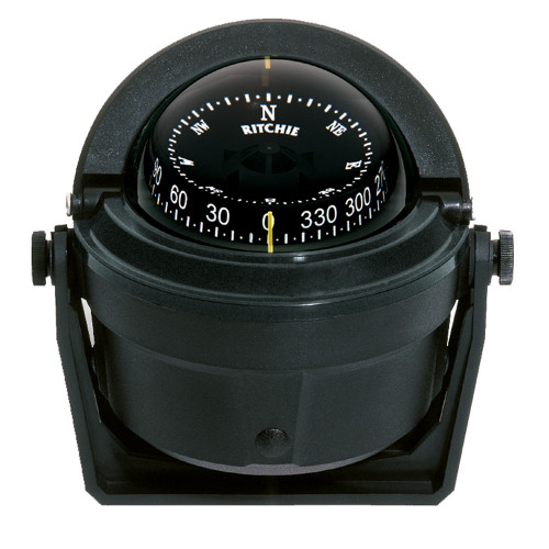 B-81 - Ritchie B-81 Voyager Compass - Bracket Mount - Black