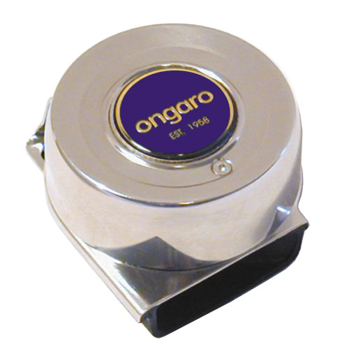 10036 - Ongaro SS Mini Compact  Single Horn - 12V